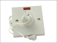 SMJ SMJW45CSC - Ceiling Switch & Neon 45A Double Pole