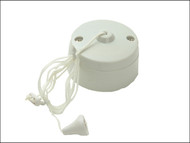 SMJ SMJW61CSC - Ceiling Switch 6A 1 Way