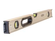 Stanley Tools STA043636 - FatMax Pro Box Beam Spirit Level 3 Vial 90cm
