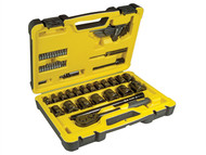 Stanley Tools STA072654 - Tech 3 Socket Set of 61 1/2in Drive