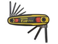 Stanley Tools STA097553 - FatMax Torx Key Locking Set of 8 (T9-T40)