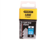 Stanley Tools STA0TRA205T - TRA2 Light-Duty Staple 8mm TRA205T Pack 1000