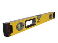 Stanley Tools STA143524 - FatMax Spirit Level 3 Vial 60cm