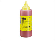 Stanley Tools STA147804 - Chalk Refill 225g (8oz) Red
