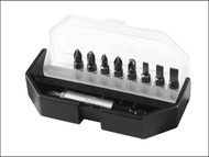 Stanley Tools STA168734 - Insert Bit Set Slotted/ Phillips/ Pozidriv 10 Piece