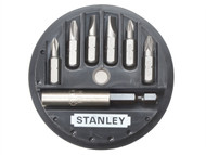 Stanley Tools STA168737 - Insert Bit Set Phillips/Slotted/Pozidriv 7 Piece