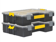 Stanley Tools STA170740 - FatMax Deep Pro Organiser Twin Pack