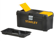 Stanley Tools STA175518 - Basic Toolbox With Organiser Top 16in