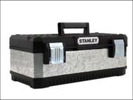 Stanley Tools STA195618 - Galvanised Metal Toolbox 20in