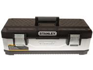 Stanley Tools STA195620 - Galvanised Metal Toolbox 26in