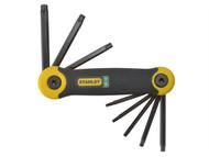 Stanley Tools STA269266 - Torx Key Folding Set of 8 (T9-T40)