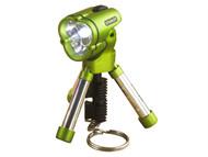 Stanley Tools STA895393 - Mini Tripod Keychain Flashlight