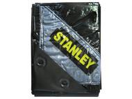 Stanley Tools STASTAPTBK1 - Premier Black Tarpaulin 1.9 x 2.9m (6 x 9ft)