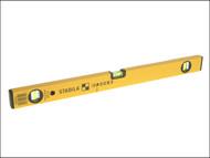 Stabila STB70240 - 70-2-100 Double Plumb Spirit Level 3 Vial 100cm