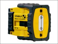 Stabila STBLAX200SET - LAX200 Cross Line Laser + Reciever + Base