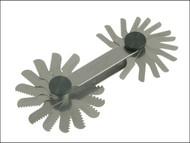 Starrett STR156M - 156M Screw Pitch Gauge 0.25 - 2.50mm