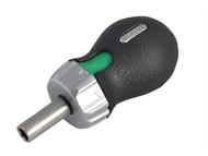 Stahlwille STW18120002 - Stubby Ratchet Bit Holder 1/4in Hex