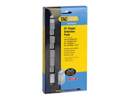 Tacwise TAC0204 - 91 Narrow Crown Divergent Point Staples Selection - Electric Tackers Pack 2800