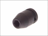 Teng TEN920519 - Impact Socket Hexagon 6 Point 1/2in Drive 19mm