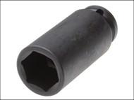Teng TEN920624 - Deep Impact Socket Hexagon 6 Point 1/2in Drive 24mm
