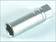Teng TENM120040 - Spark Plug Socket 1/2in Drive 16mm