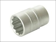 Teng TENM120519 - Bi-Hexagon Socket 12 Point 1/2in Drive 19mm