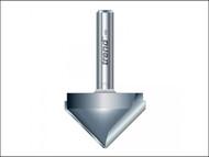 "Trend TRE11312TC - 11/3 x 1/2 TCT V Groove Cutter 45'«'""'â'¢'«Î䒫 9.2 x 19.1mm"