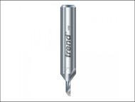 Trend TRE2214TC - 2/2 x 1/4 TCT Single Flute Cutter 3.2 x 8.0mm
