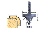 Trend TRE4613014TC - 46/130 x 1/4 TCT Bearing Guided Ovolo & Round Over 6.3mm Radius