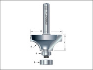 Trend TRE4614014TC - 46/140 x 1/4 TCT Bearing Guided Ovolo & Round Over 9.5mm Radius