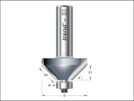 "Trend TRE4636012TC - 46/360 x 1/2 TCT Bearing Guided Chamfer 45'«'""'â'¢'«Î䒫΁ 35.1 x 12mm"