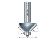 "Trend TRE463812TC - 46/38 x 1/2 TCT Bearing Guided Chamfer 45'«'""'â'¢'«Î䒫΁ 51.5 x 19mm"