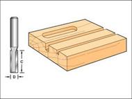 Trend TREC01514TC - C015 x 1/4 TCT Two Flute Cutter 9.5mm x 31.8mm