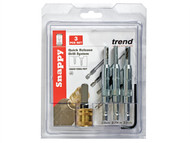 Trend TRESNAPDBGS - SNAP/DBG/SET Drill Bit Guide Set with Quick Chuck - 5/64in, 7/64in & 9/64in