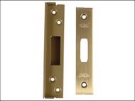 UNION UNNJ2100R05P - StrongBOLT 2100 Mortice Deadlock Rebate Kit 13mm Polished Brass Box