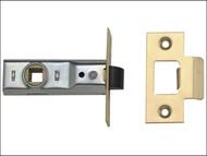 UNION UNNJ2648PL25 - Tubular Mortice Latch 2648 Polished Brass 64mm 2.5in Box