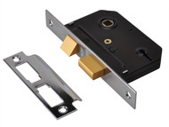 UNION UNNYESSLCH25 - ES-SL Essentials 3 Lever Mortice Sashlock Chrome 65mm 2.5in Visi