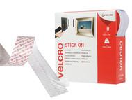 VELCRO Brand VEL60219 - VELCRO Brand Stick On Tape 20mm x 10m White