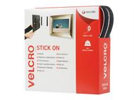 VELCRO Brand VEL60220 - VELCRO Brand Stick On Tape 20mm x 10m Black