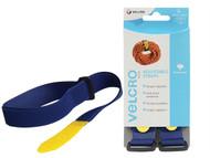 VELCRO Brand VEL60327 - VELCRO Brand Adjustable Straps(2) 25mm x 92cm Blue