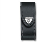 Victorinox VIC4052030 - Black Leather Belt Pouch (2-4 Layer)