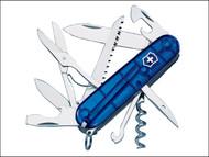 Victorinox VICHUNTJBL - Huntsman Swiss Army Knife Translucent Blue 13713T2NP