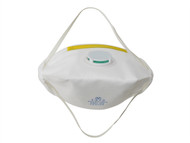 Vitrex VIT331221 - Sanding & Loft Insulation Premium Valved Fold Flat Mask FFP1