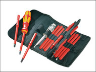 Wera WER003474 - Kraftform VDE Kompakt Interchangeable Screwdriver Set of 16 SL PH PZ TX