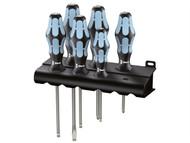 Wera WER032060 - Kraftform Plus Stainless Steel Screwdriver Set of 6 PH / SL