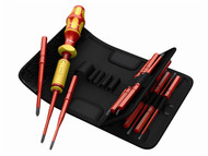 Wera WER059291 - 7441 VDE Adjustable Torque Screwdriver Set of 15 1.2-3Nm