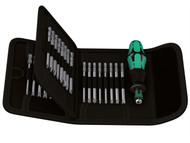 Wera WER059297 - Kraftform Kompakt 62 Screwdriver Bit Holding Set of 33