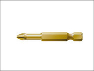 Wera WER059860 - 851/4 TH Phillips PH2 Torsion Extra Hard Insert Bit 50mm Pack 10