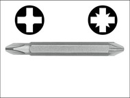 Witte WIT26733 - Double Ended Screwdriver Bit Pozi / Phillips (Card of 3)