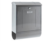 Yale Locks YAL300230 - Montana Postbox Stainless Steel